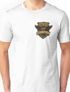Owl Postal Service Unisex T-Shirt