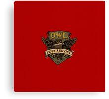 Owl Postal Service Canvas Print