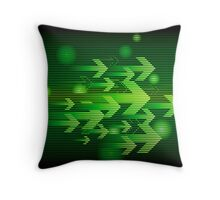 Abstract colorful business background Throw Pillow