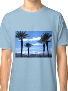 PALM TREES AND THE SNOWY MOUNTAINS Classic T-Shirt