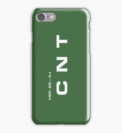 2001 A Space Odyssey - HAL 9000 CNT System iPhone Case/Skin