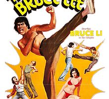 Image of Bruce Lee by Spookydark