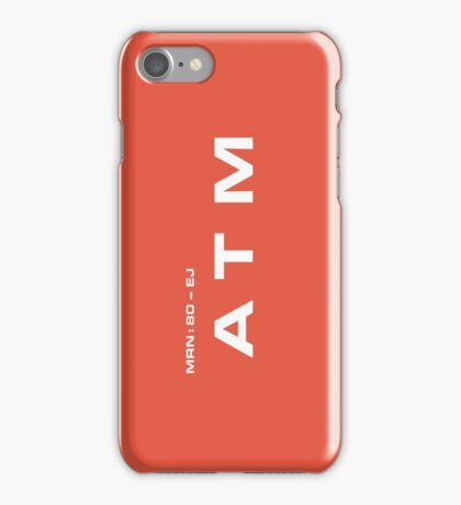 2001 A Space Odyssey - HAL 9000 ATM System iPhone Case/Skin