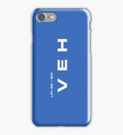 2001 A Space Odyssey - HAL 900 VEH System iPhone Case/Skin