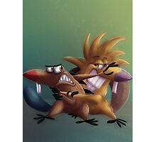 The Angry Beavers - Remake Photographic Print