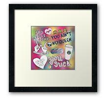 Sassy Artwork Framed Print