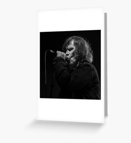 Mark Lanegan Greeting Card
