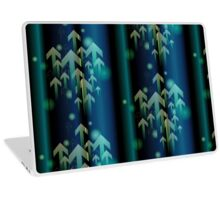 Abstract colorful business background Laptop Skin