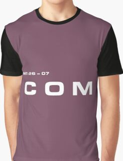 2001 A Space Odyssey - HAL 900 COM System Graphic T-Shirt