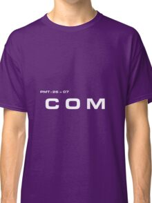 2001 A Space Odyssey - HAL 900 COM System Classic T-Shirt