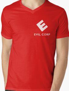 Evil corp Mens V-Neck T-Shirt