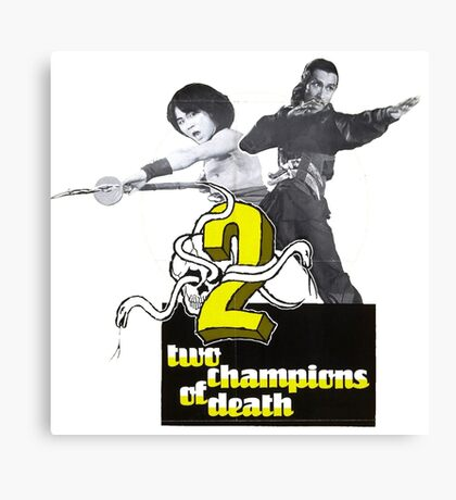 Champions of Death Canvas Print