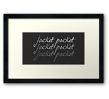 It's fun to say... Framed Print