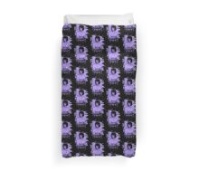 Mary Shelley (Wollstonecraft) Tribute (violet) Duvet Cover