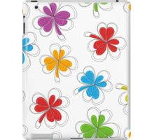Colorful Shamrocks iPad Case/Skin