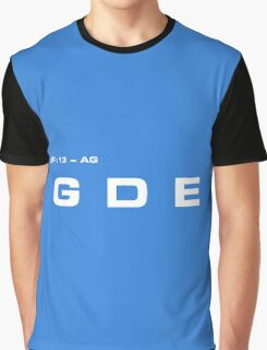 2001 A Space Odyssey - HAL 9000 GDE System Graphic T-Shirt