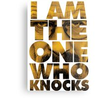 I am the one who knocks - Breaking Bad Metal Print