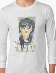 Girl in the city park T-Shirt