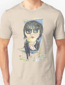 Girl in the city park Unisex T-Shirt