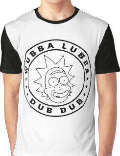 Rick and Morty - Rick Sanchez - Wubba Lubba Dub Dub! Graphic T-Shirt