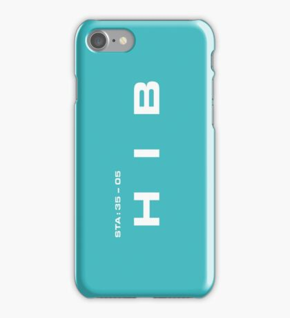 2001 A Space Odyssey - HAL 9000 HIB System iPhone Case/Skin
