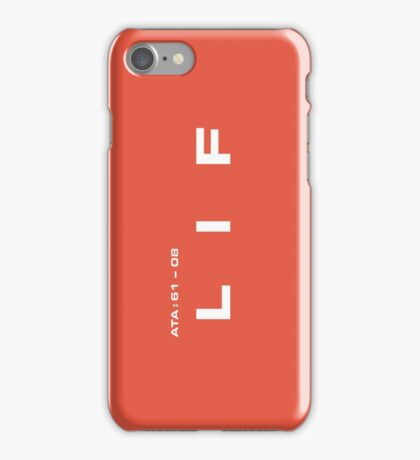 2001 A Space Odyssey - HAL 900 LIF System iPhone Case/Skin
