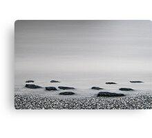 the beach : still life III Canvas Print