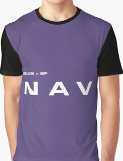 2001 A Space Odyssey - HAL 9000 NAV System Graphic T-Shirt