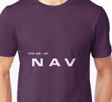 2001 A Space Odyssey - HAL 9000 NAV System Unisex T-Shirt