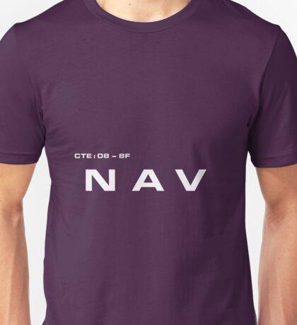 2001 A Space Odyssey - HAL 9000 NAV System Unisex T-Shirt