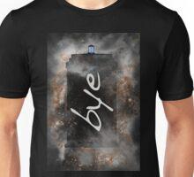 Bye...British Phone Box in Space Unisex T-Shirt