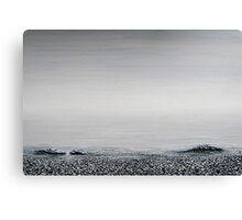 the beach : still life II Canvas Print