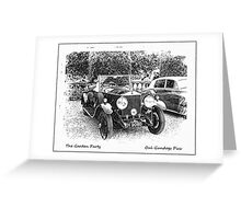 The Garden Party Greeting Card
