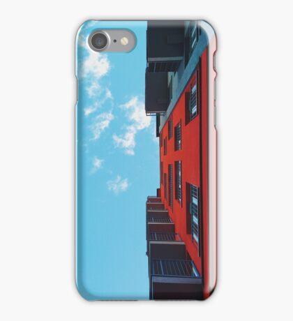 Red n Blue iPhone Case/Skin