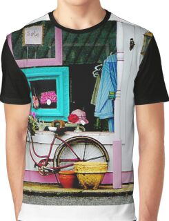 Bicycle by Antique Shop Graphic T-Shirt