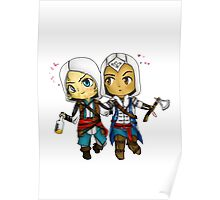 Edward and Connor Kenway Poster