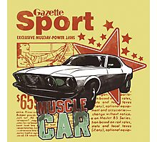 Gazette Sport Vintage Photographic Print