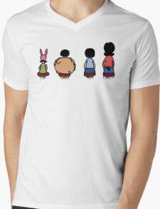 Linda and her kids  Mens V-Neck T-Shirt