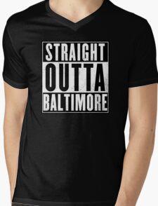 Baltimore Mens V-Neck T-Shirt