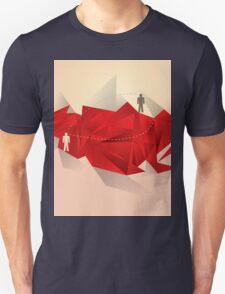 Social Media Circles, Network Illustration Unisex T-Shirt