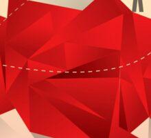 Social Media Circles, Network Illustration Sticker