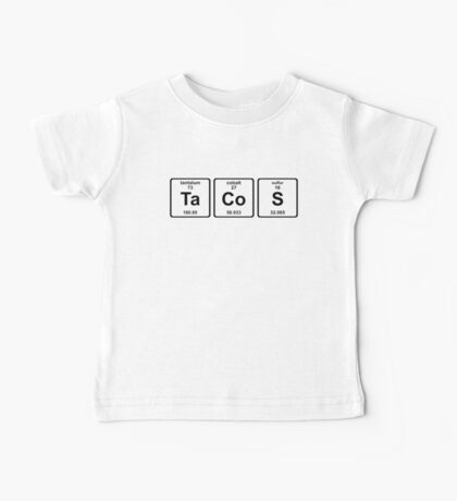 Breaking Bad - Tacos and Chemistry Baby Tee