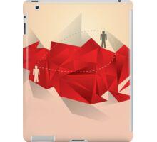 Social Media Circles, Network Illustration iPad Case/Skin