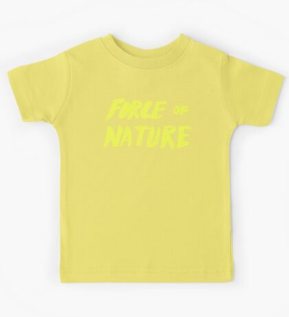 Force of Nature x Cloud Forest Kids Tee