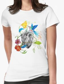 Hearts´s Love Womens Fitted T-Shirt