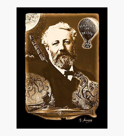 Jules Verne Tribute Photographic Print