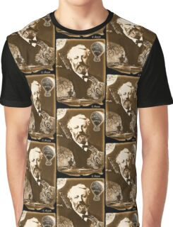 Jules Verne Tribute Graphic T-Shirt
