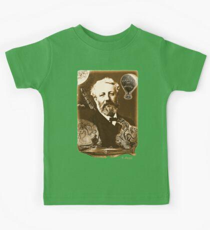 Jules Verne Tribute Kids Tee