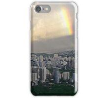 Rainbow Over Honolulu iPhone Case/Skin