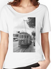San Francisco Trolley Car Women's Relaxed Fit T-Shirt